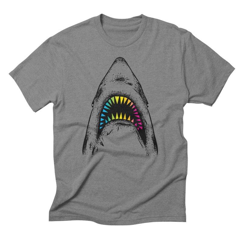 Fancy Sharky Men's T-Shirt by Jun087