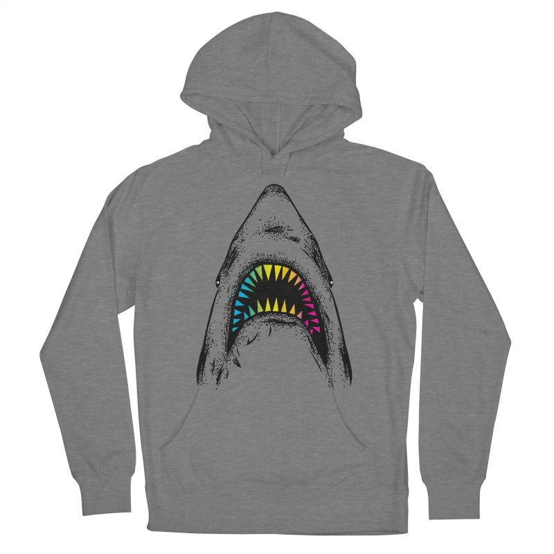 Fancy Sharky Men's French Terry Pullover Hoody by Jun087