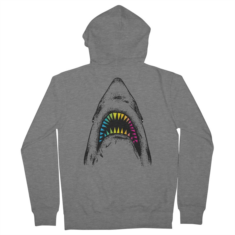 Fancy Sharky Women's Zip-Up Hoody by Jun087