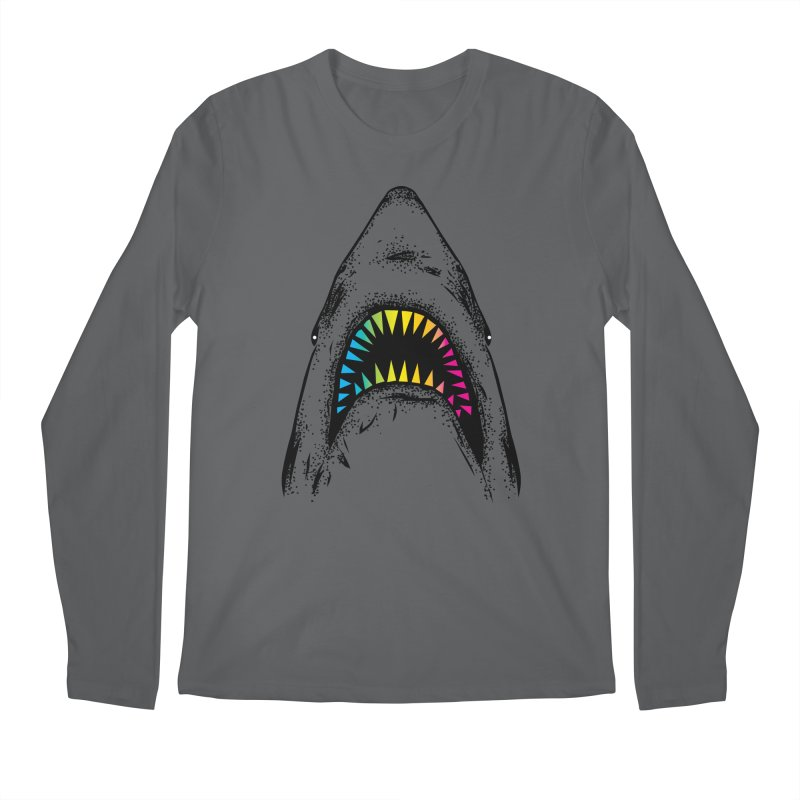 Fancy Sharky Men's Regular Longsleeve T-Shirt by Jun087