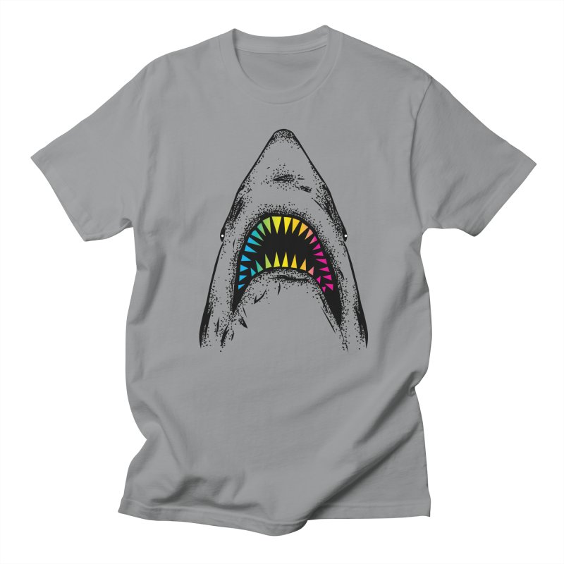 Fancy Sharky Men's Regular T-Shirt by Jun087
