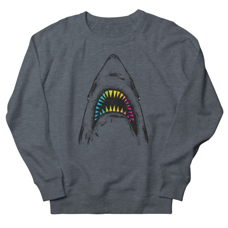 Fancy Sharky Men's French Terry Sweatshirt by Jun087