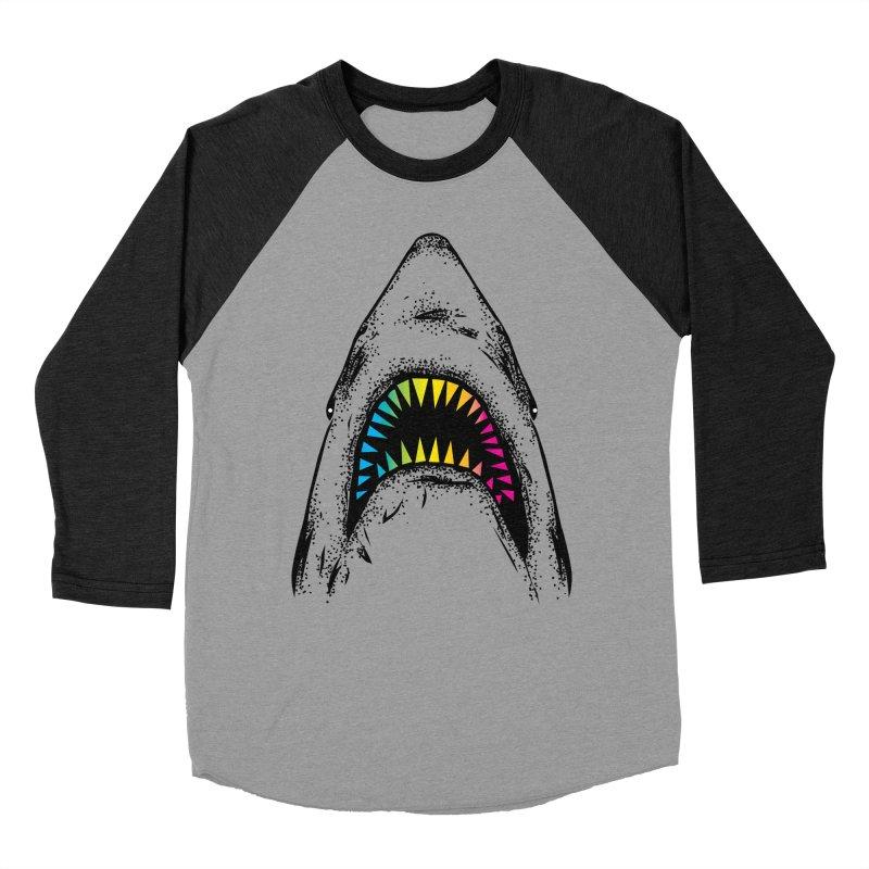 Fancy Sharky Women's Baseball Triblend T-Shirt by Jun087