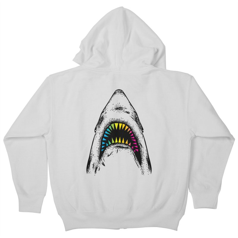 Fancy Sharky Kids Zip-Up Hoody by Jun087
