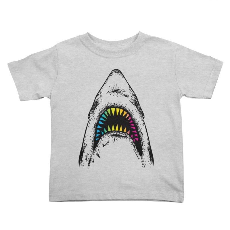 Fancy Sharky Kids Toddler T-Shirt by Jun087