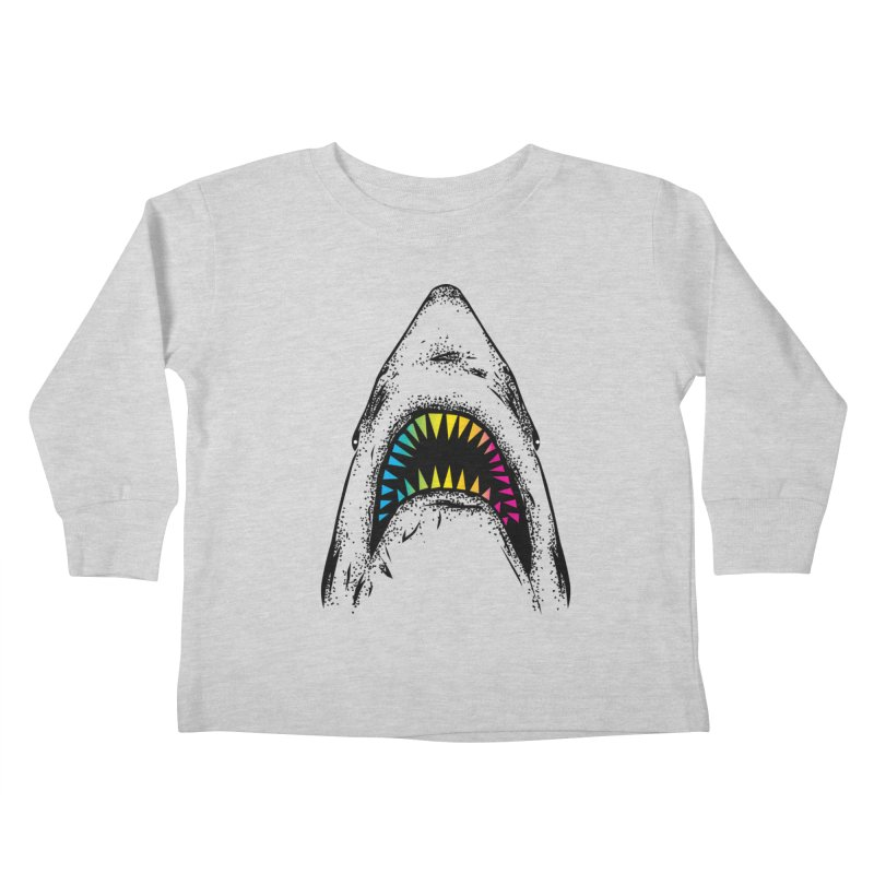 Fancy Sharky Kids Toddler Longsleeve T-Shirt by Jun087