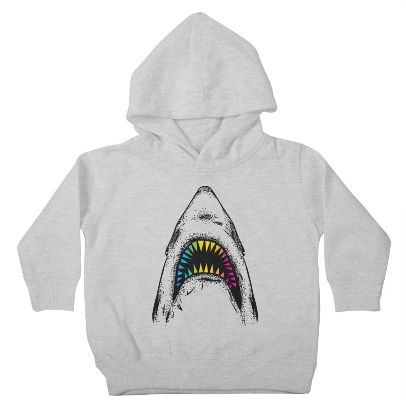 Fancy Sharky Kids Toddler Pullover Hoody by Jun087