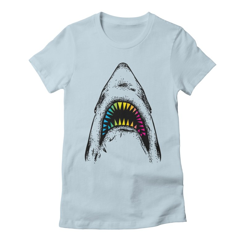 Fancy Sharky Women's T-Shirt by Jun087