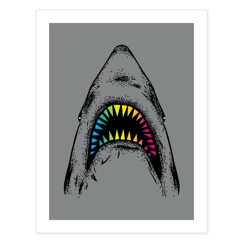 Fancy Sharky Home Fine Art Print by Jun087