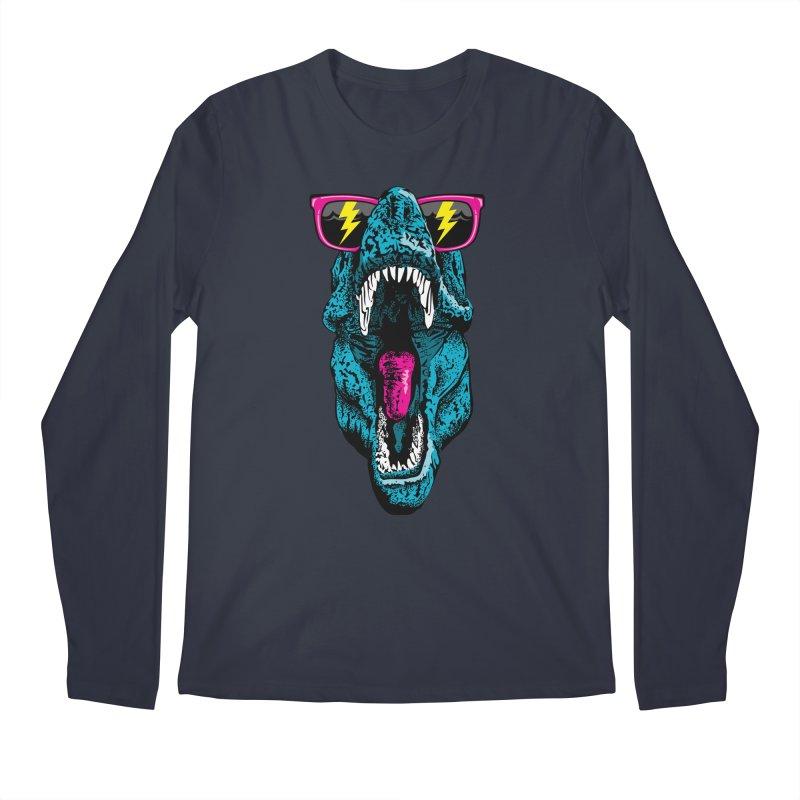 Fancy Dino Men's Longsleeve T-Shirt by Jun087