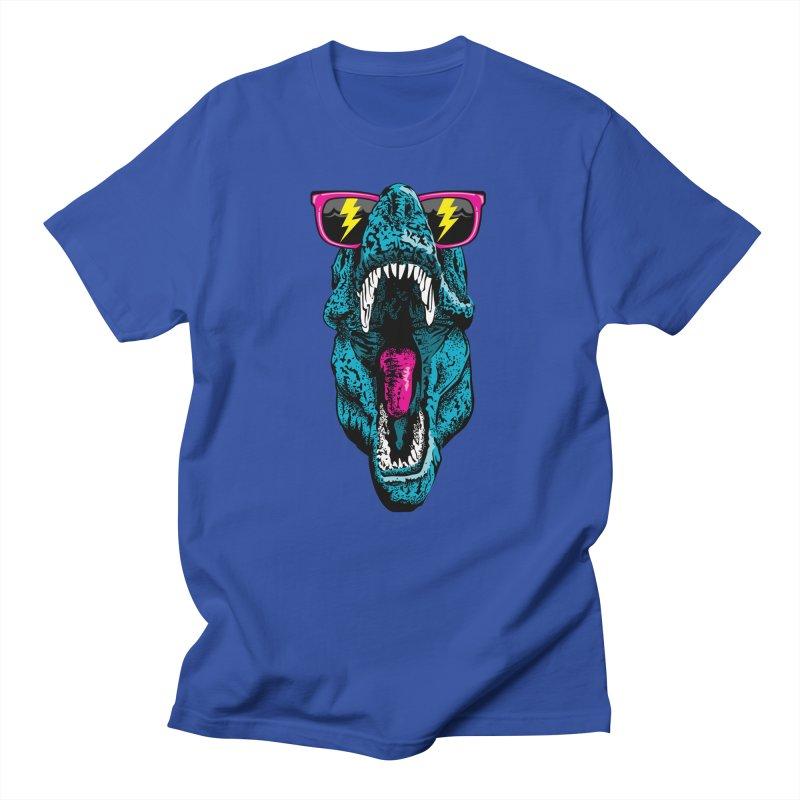 Fancy Dino Men's T-Shirt by Jun087