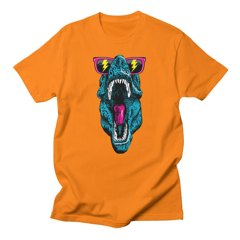 Fancy Dino Men's Regular T-Shirt by Jun087