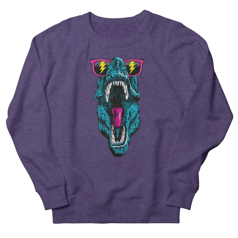 Fancy Dino Women's French Terry Sweatshirt by Jun087