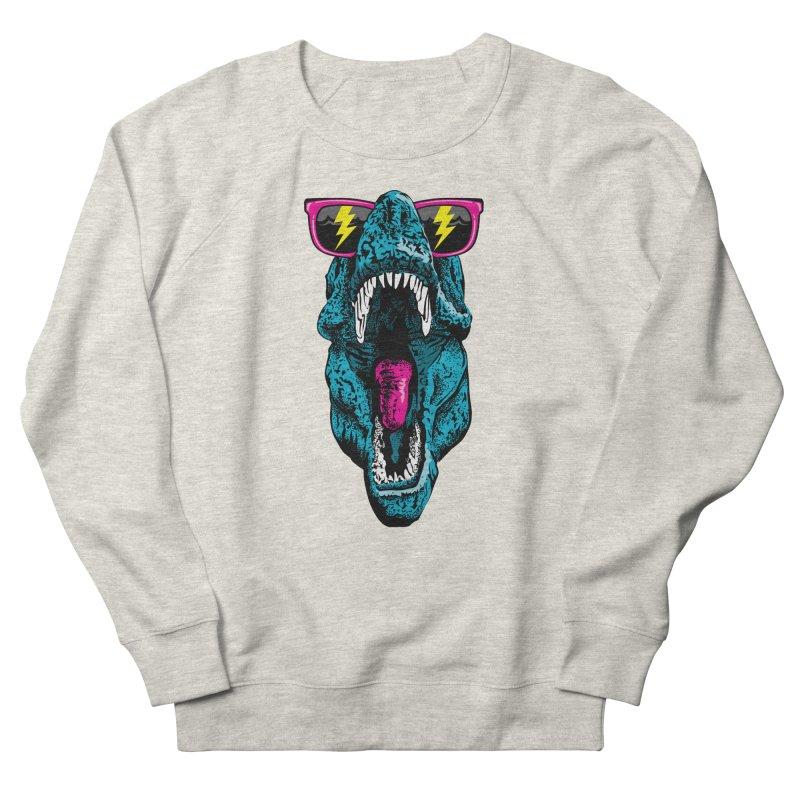 Fancy Dino Men's French Terry Sweatshirt by Jun087