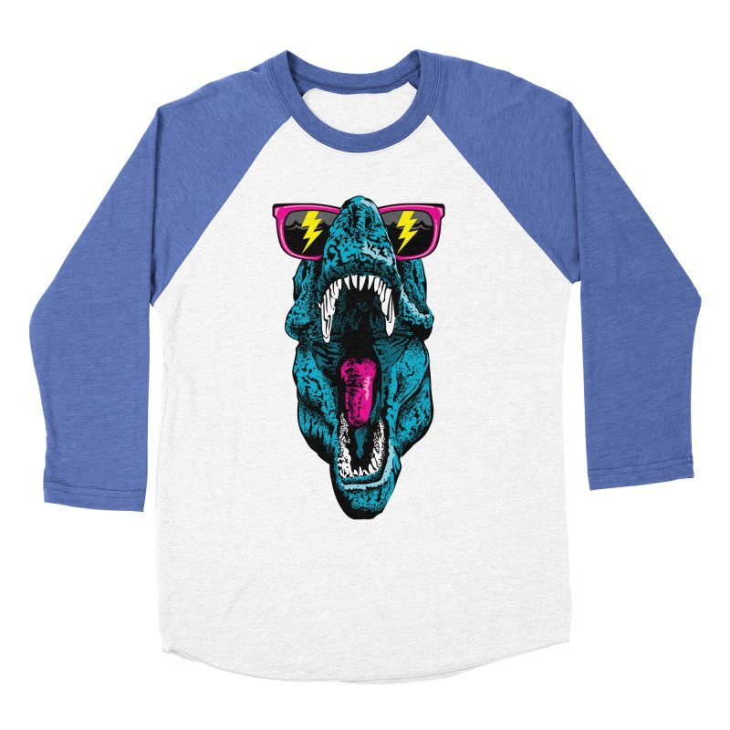 Fancy Dino Women's Baseball Triblend Longsleeve T-Shirt by Jun087
