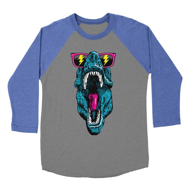 Fancy Dino Women's Baseball Triblend T-Shirt by Jun087