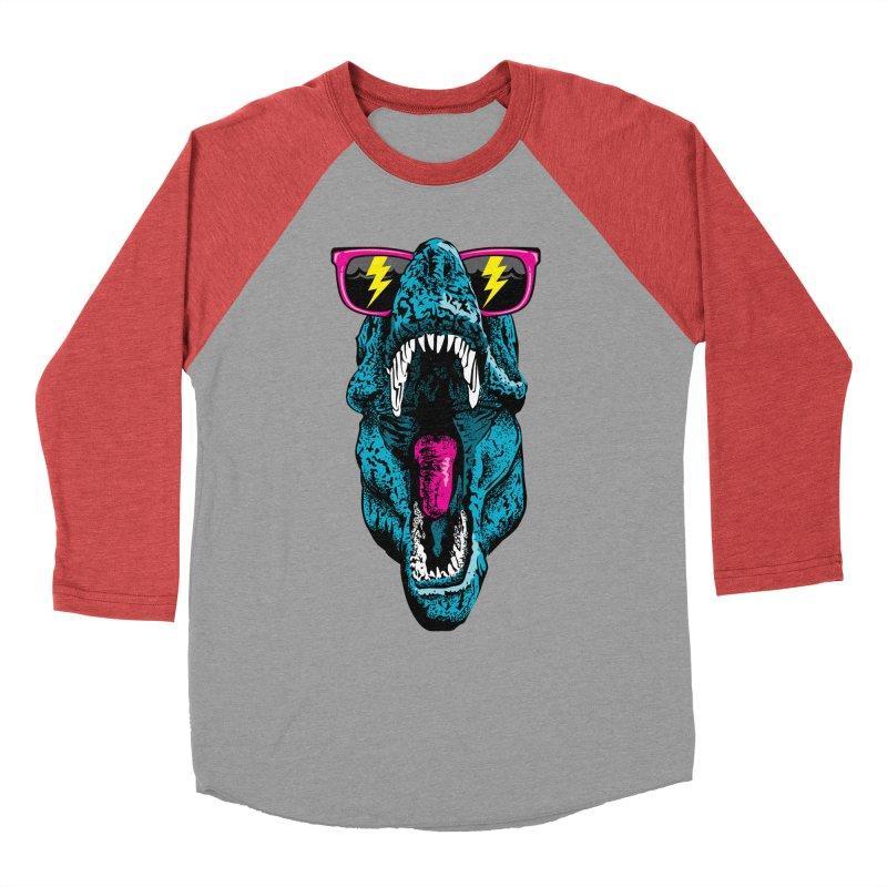 Fancy Dino Men's Baseball Triblend T-Shirt by Jun087