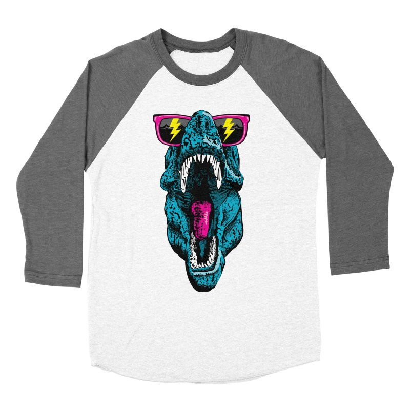 Fancy Dino Men's Baseball Triblend Longsleeve T-Shirt by Jun087