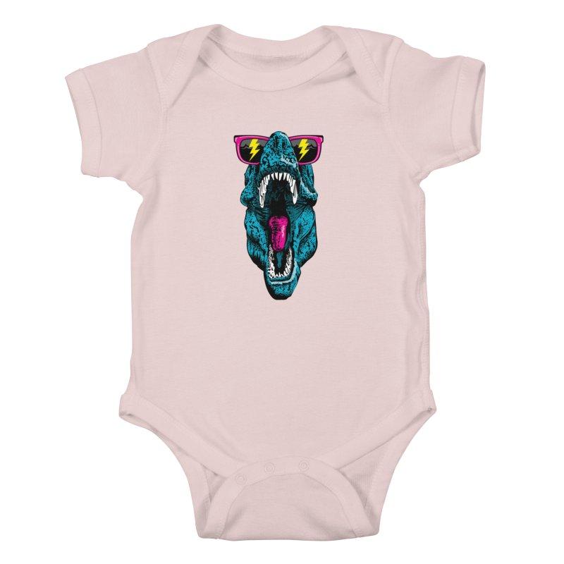 Fancy Dino Kids Baby Bodysuit by Jun087
