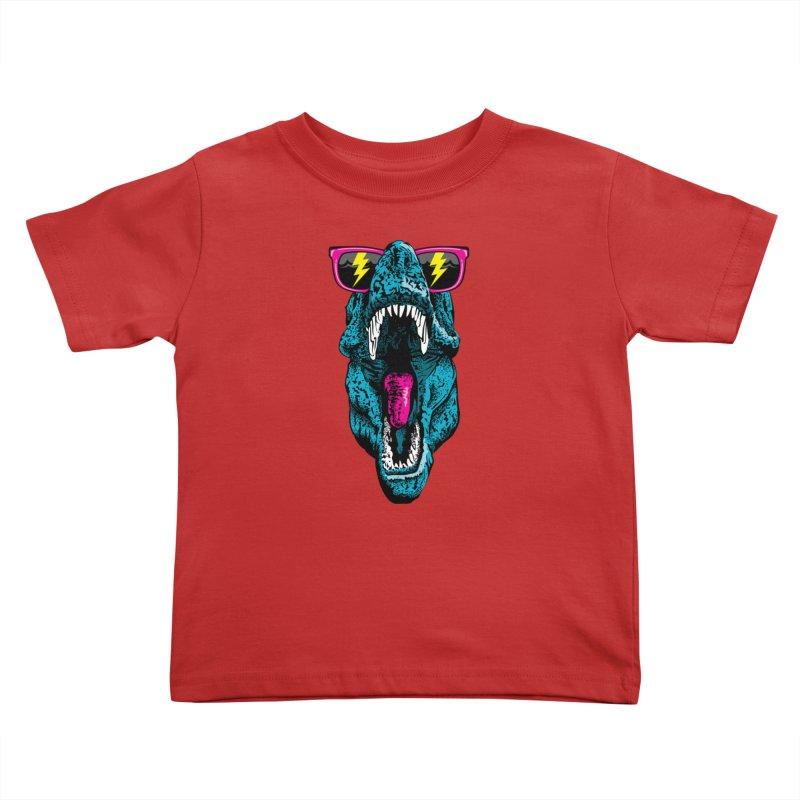Fancy Dino Kids Toddler T-Shirt by Jun087