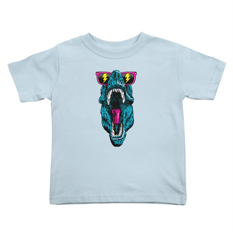 Fancy Dino Kids Toddler T-Shirt by Jun087