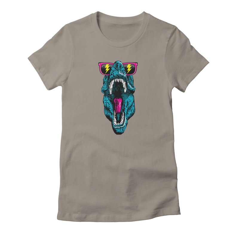Fancy Dino Women's T-Shirt by Jun087