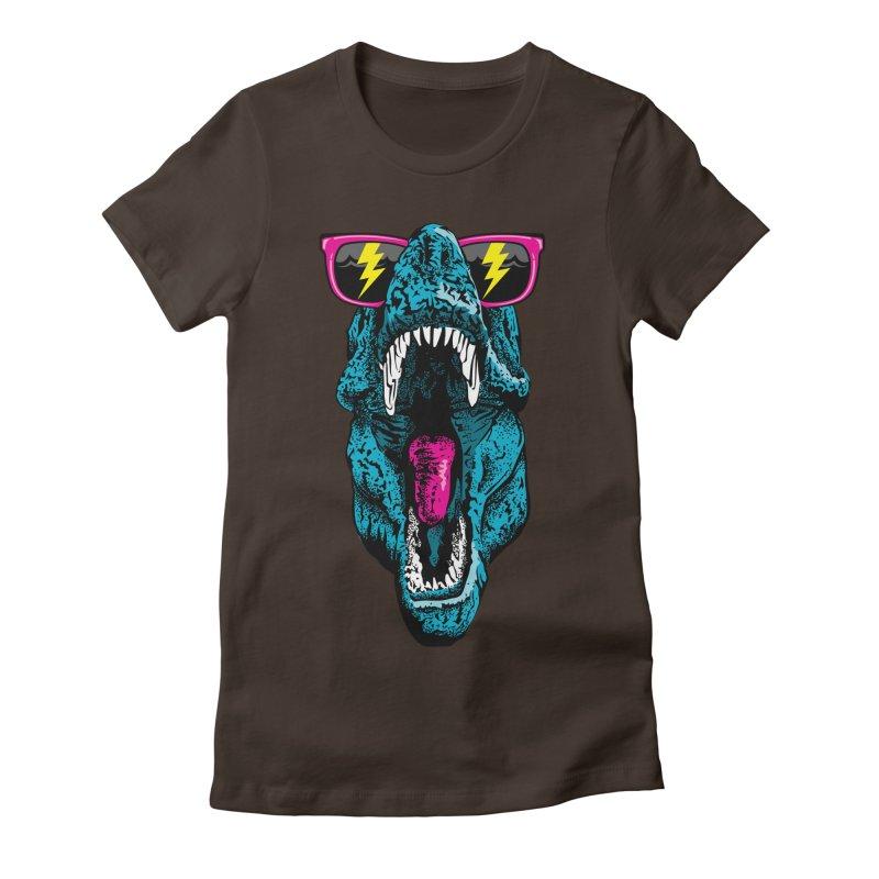Fancy Dino Women's T-Shirt by Jun087
