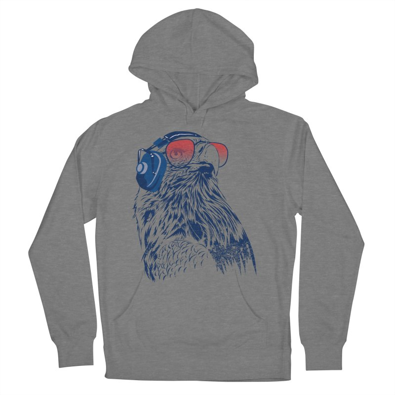 The Perfect Pilot Men's French Terry Pullover Hoody by Jun087