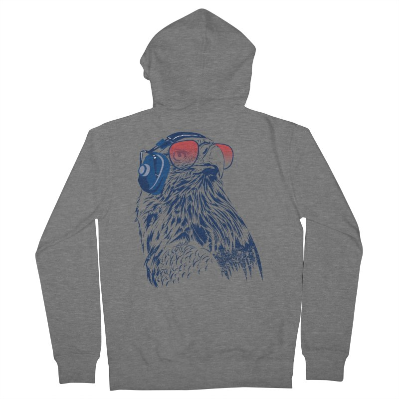The Perfect Pilot Men's French Terry Zip-Up Hoody by Jun087