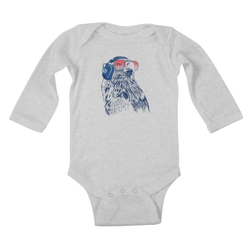 The Perfect Pilot Kids Baby Longsleeve Bodysuit by Jun087