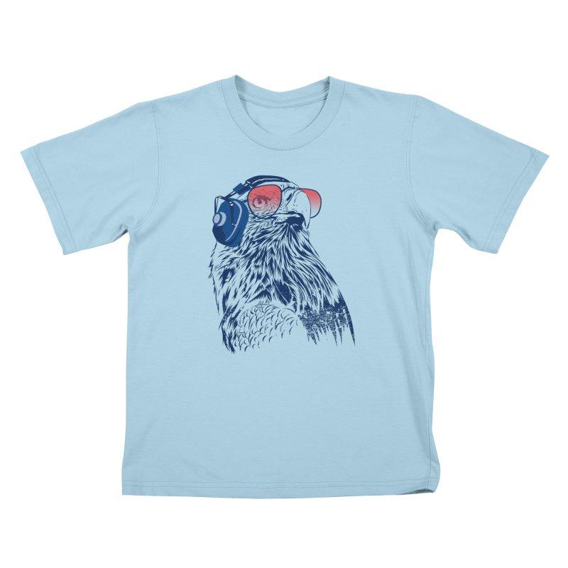 The Perfect Pilot Kids T-Shirt by Jun087