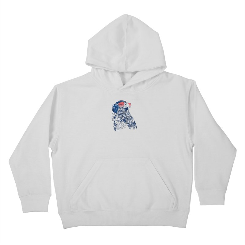 The Perfect Pilot Kids Pullover Hoody by Jun087