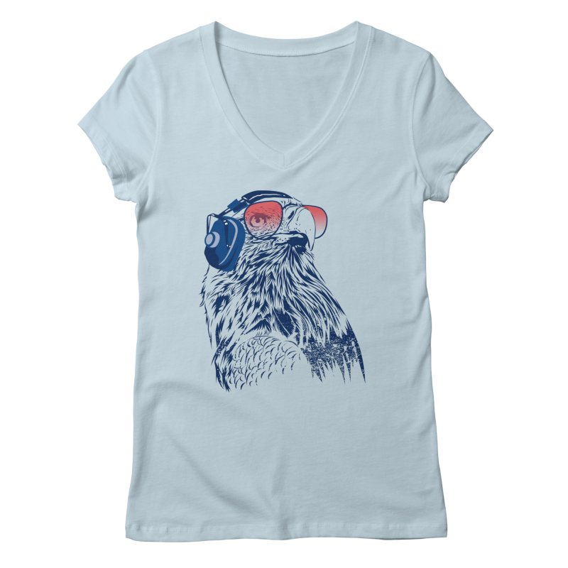 The Perfect Pilot Women's V-Neck by Jun087