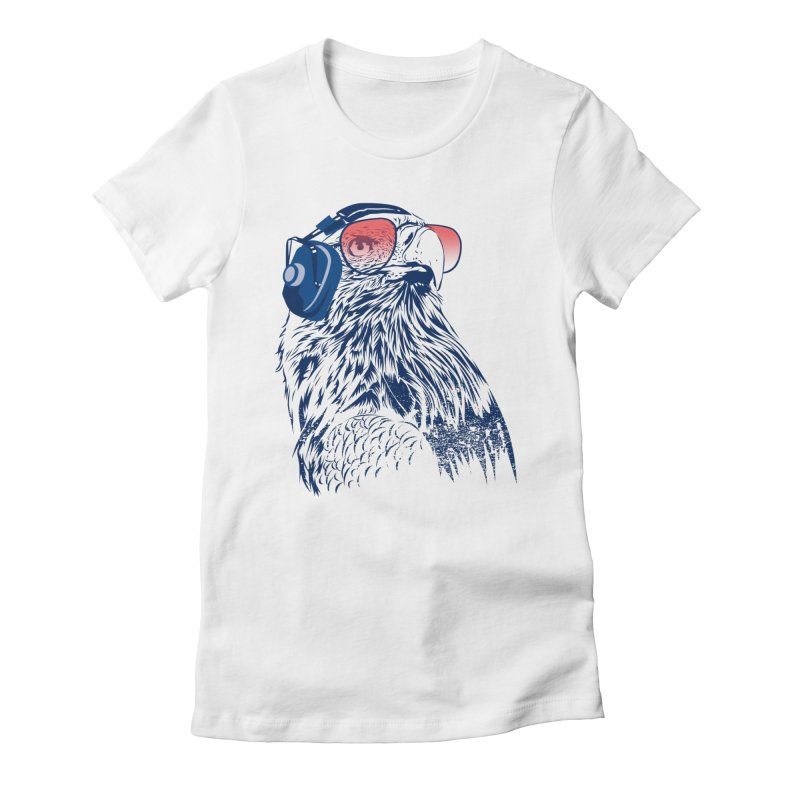 The Perfect Pilot Women's Fitted T-Shirt by Jun087