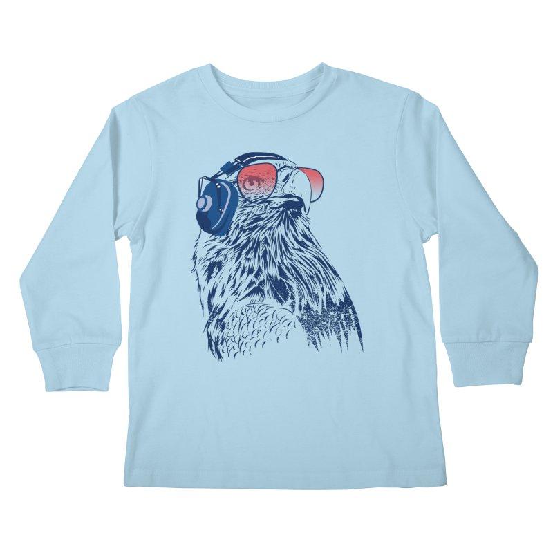 The Perfect Pilot Kids Longsleeve T-Shirt by Jun087