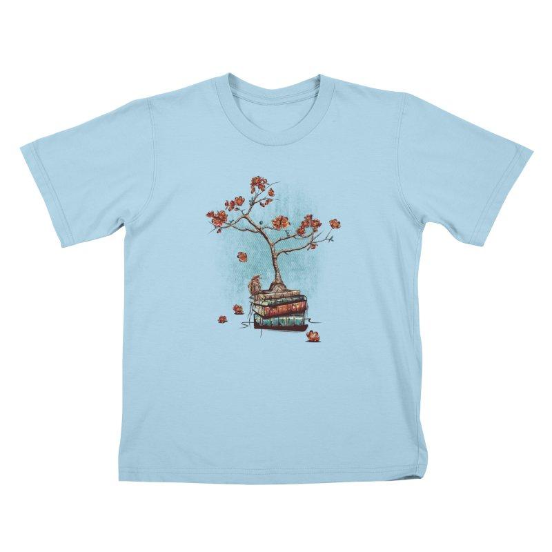 Re-bound Kids T-Shirt by Jun087