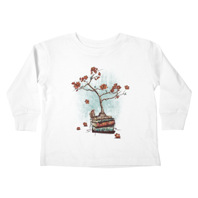 Re-bound Kids Toddler Longsleeve T-Shirt by Jun087