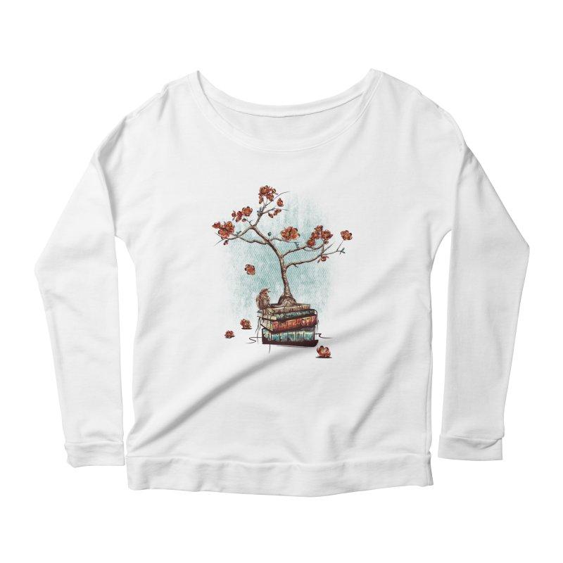 Re-bound Women's Scoop Neck Longsleeve T-Shirt by Jun087
