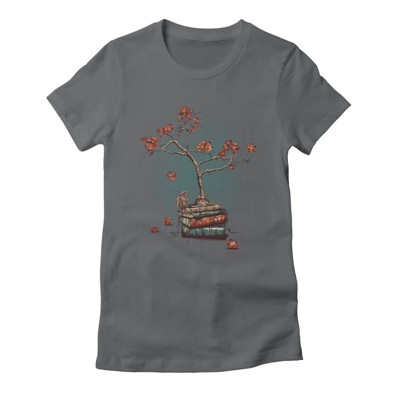 Re-bound Women's Fitted T-Shirt by Jun087