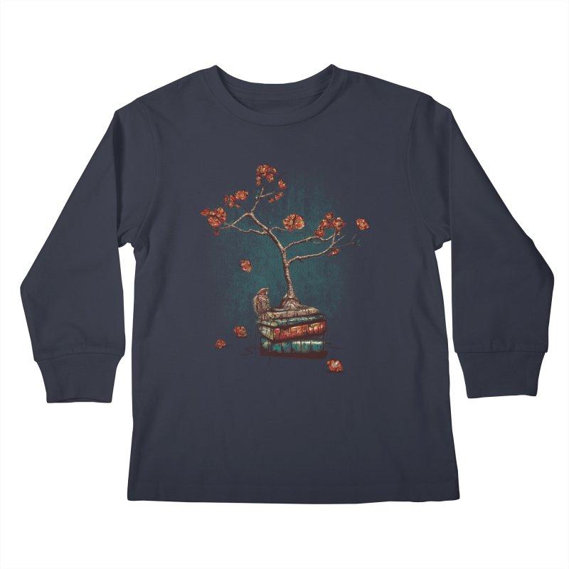 Re-bound Kids Longsleeve T-Shirt by Jun087