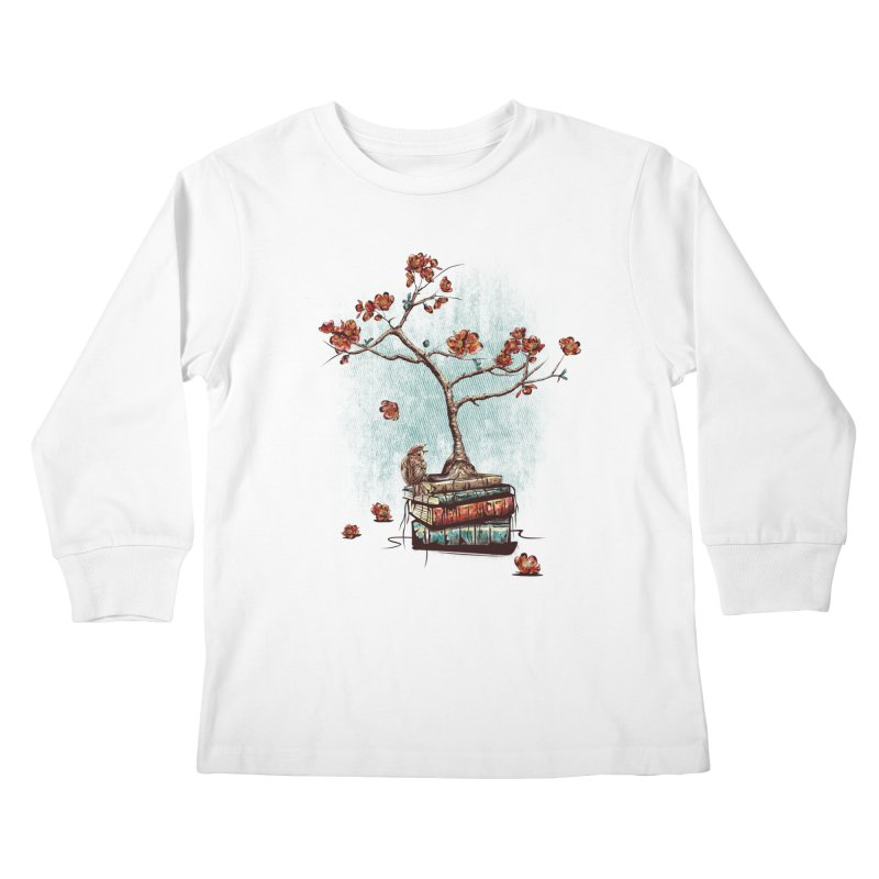 Re-bound Kids Longsleeve T-Shirt by Jun087