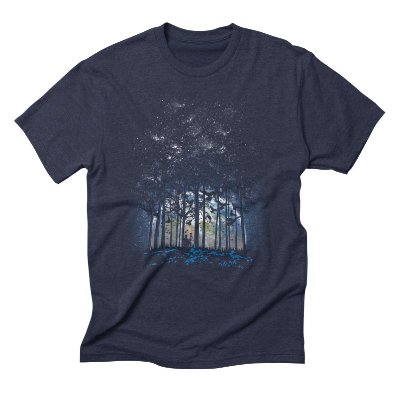 Rising Men's Triblend T-Shirt by Jun087