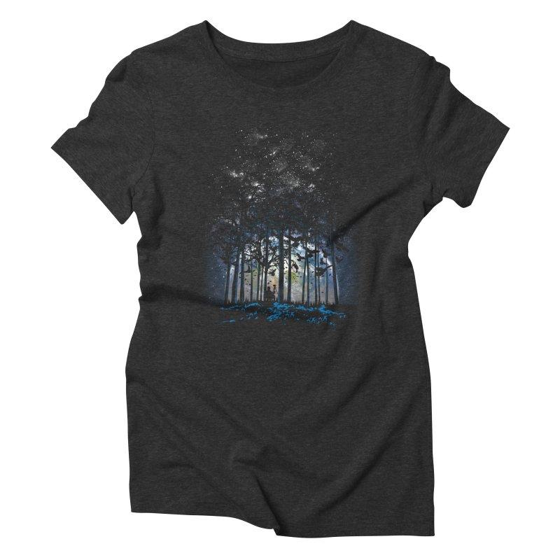Rising Women's Triblend T-Shirt by Jun087