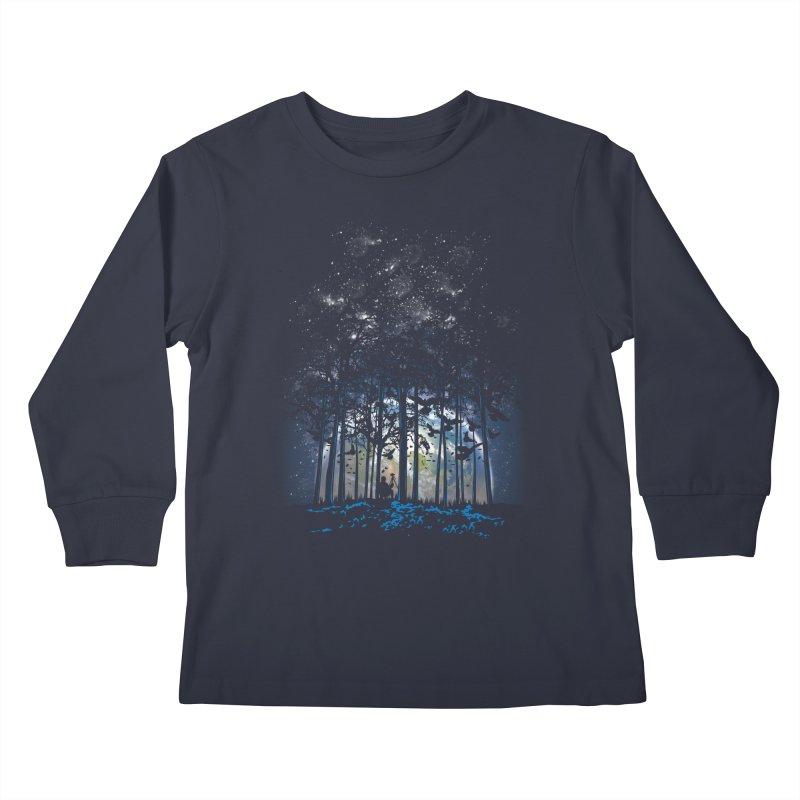 Rising Kids Longsleeve T-Shirt by Jun087