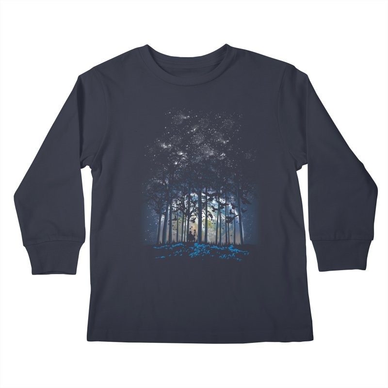 Rising Kids Longsleeve T-Shirt by Jun087