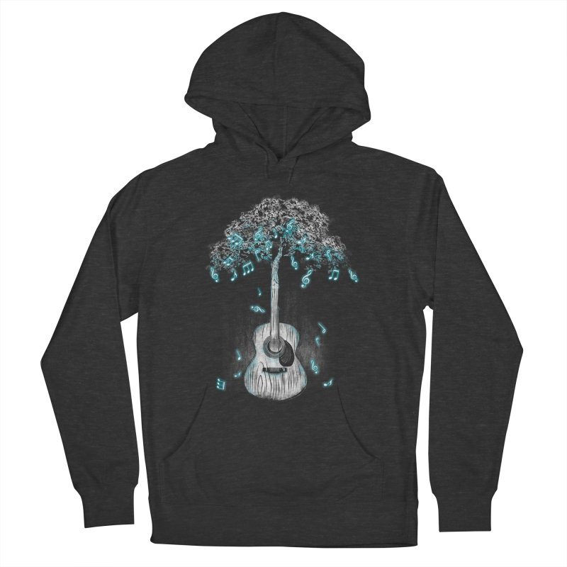 Sound of Nature Men's French Terry Pullover Hoody by Jun087