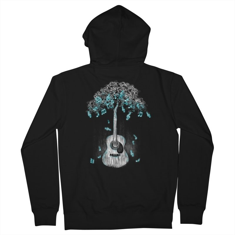Sound of Nature Women's French Terry Zip-Up Hoody by Jun087