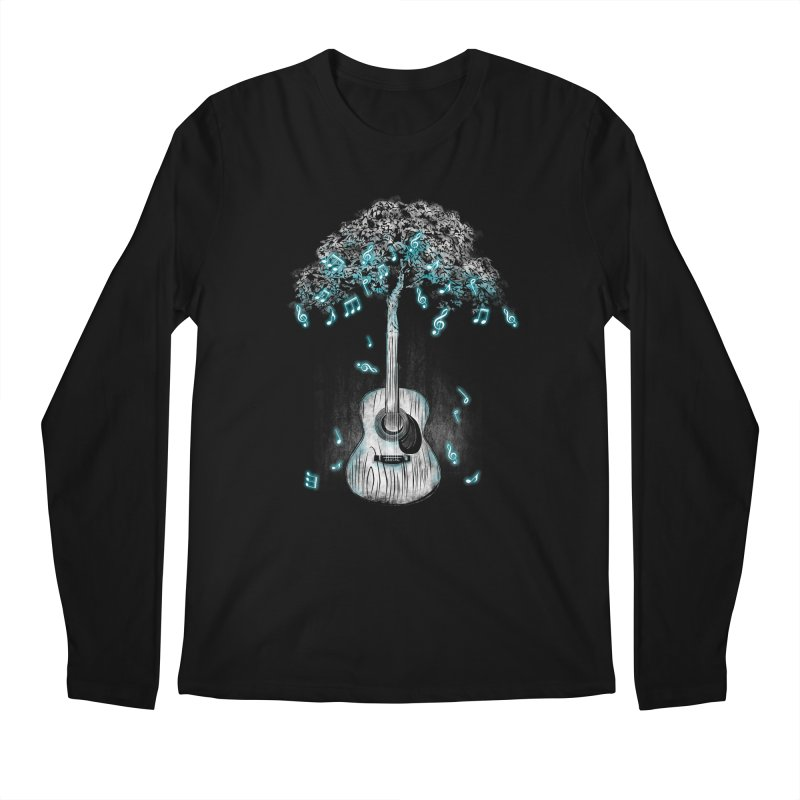 Sound of Nature Men's Regular Longsleeve T-Shirt by Jun087