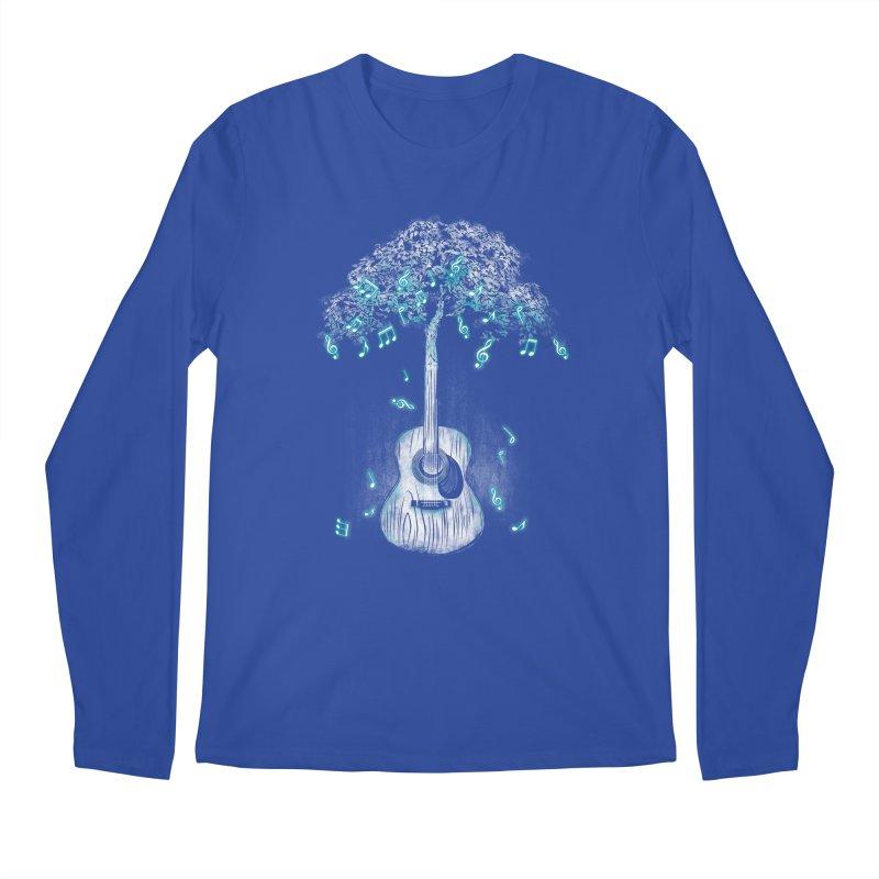 Sound of Nature Men's Regular Longsleeve T-Shirt by Jun087