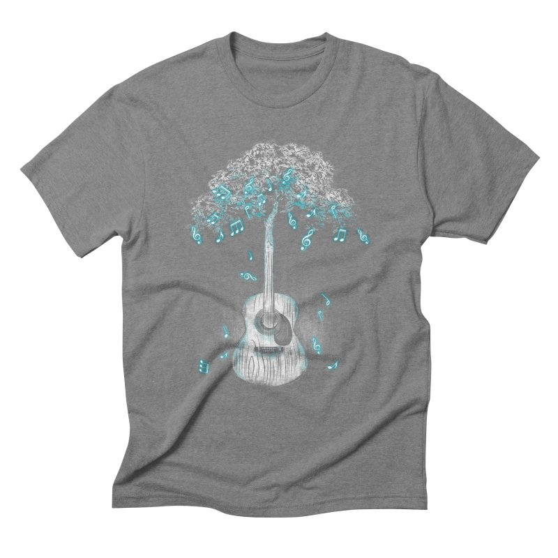 Sound of Nature Men's Triblend T-shirt by Jun087